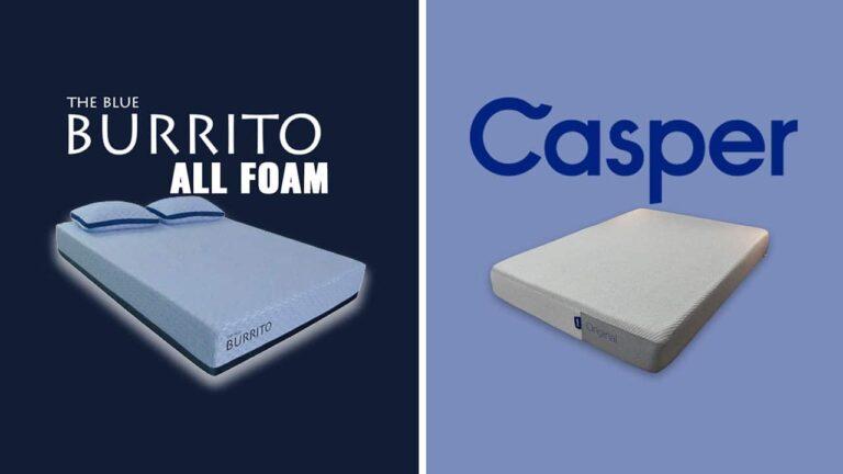 Blue Burrito vs Casper Mattress