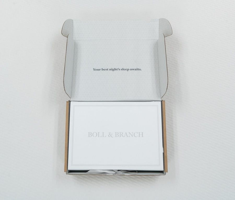 Boll and Branch reviews Luxury Bedding Sheets Unboxing