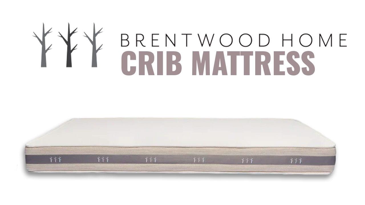 Brentwood Home Organic Crib Mattress