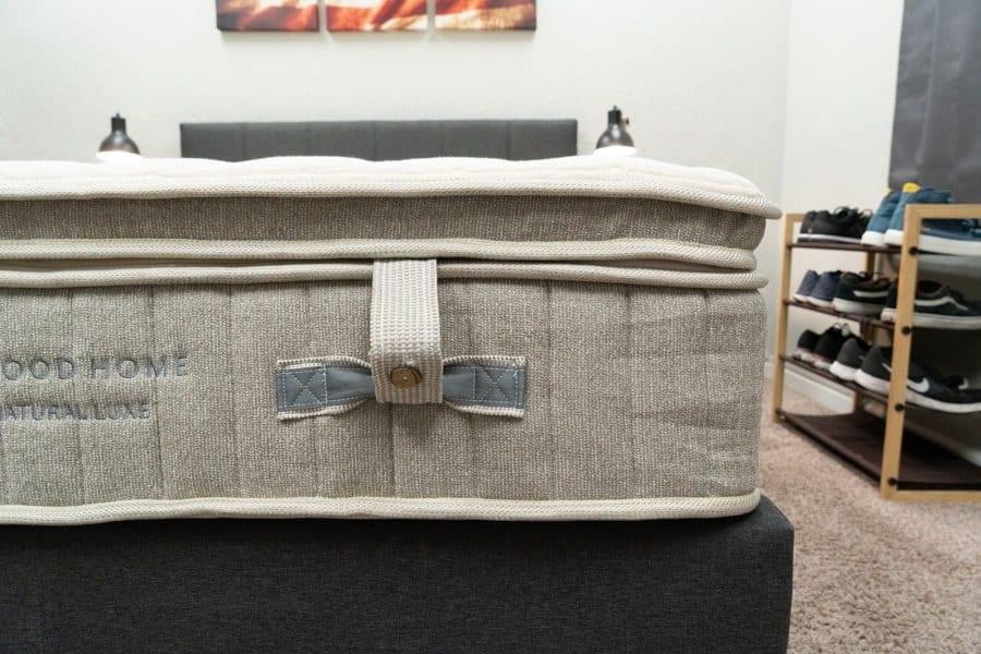 Brentwood Home Cedar Natural Luxe Mattress Review Construction Topper