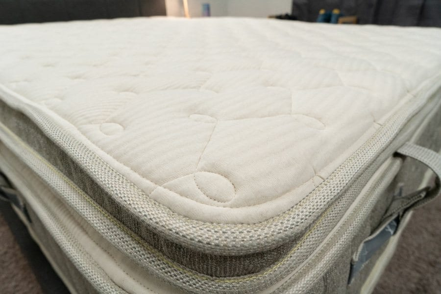 Brentwood Home Cedar Natural Luxe Mattress Review Cover Topper Organic Cotton
