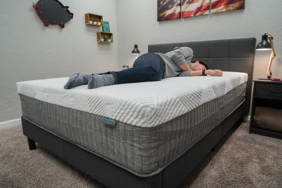 brentwood home cypress mattress review side sleeper