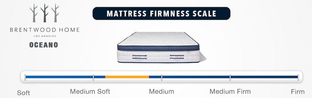 brentwood home oceano mattress review firmness