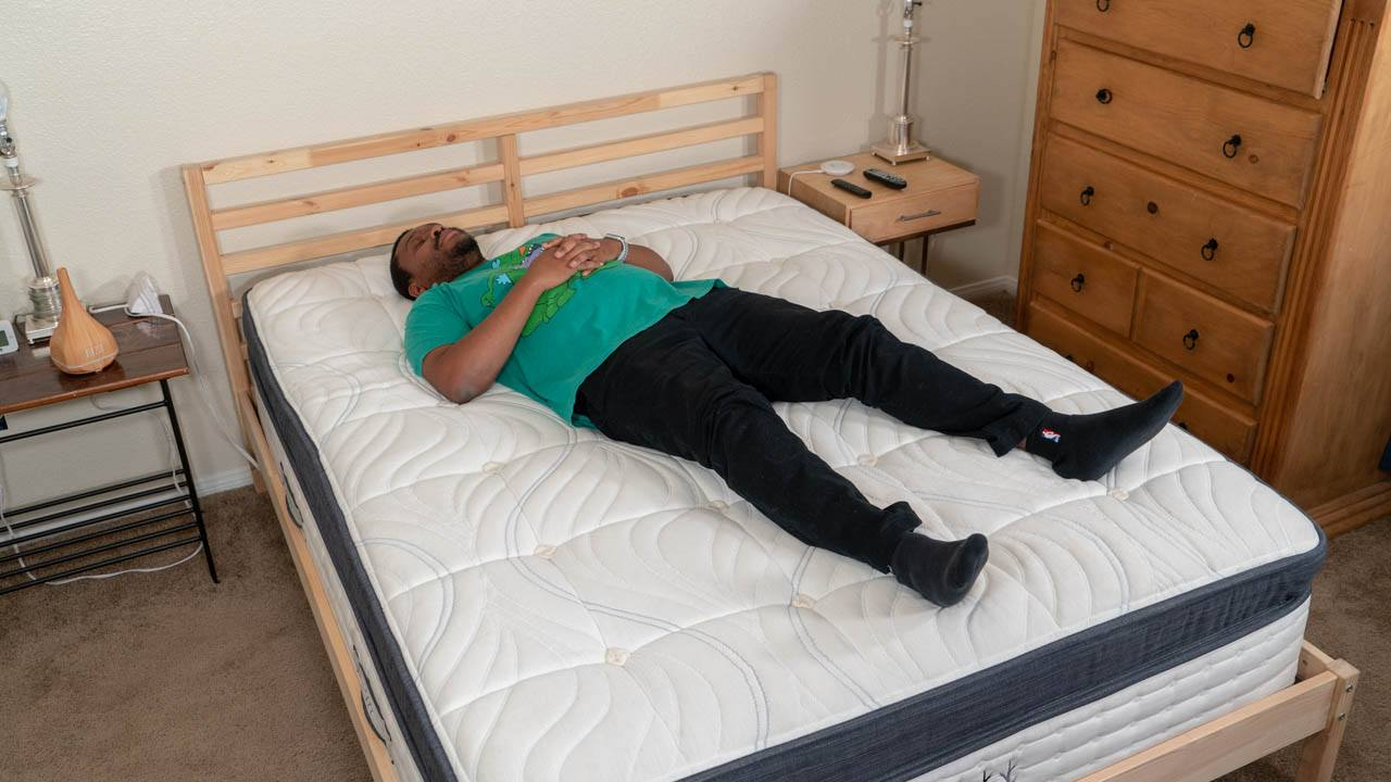 brentwood home oceano mattress review back sleepers