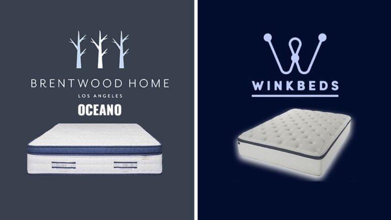 Brentwood Home vs WinkBeds Mattress