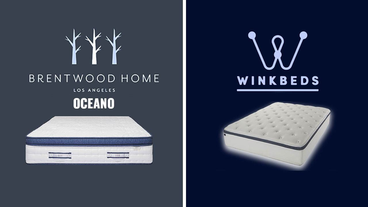 brentwood home vs winkbed mattress review