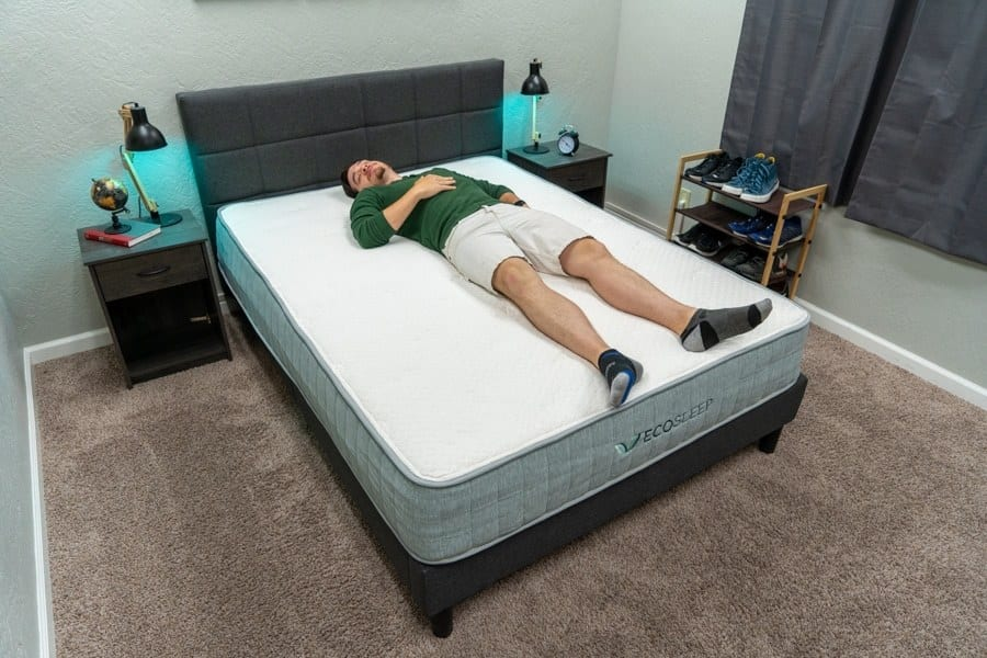ecosleep mattress review back sleeper