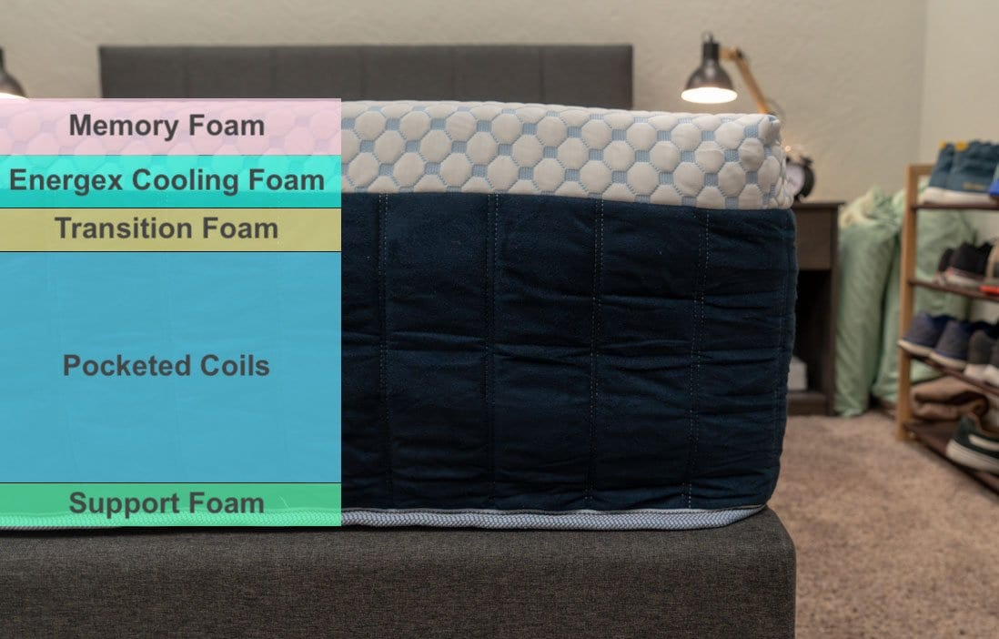 freya mattress review cooling mattress from booklyn bedding