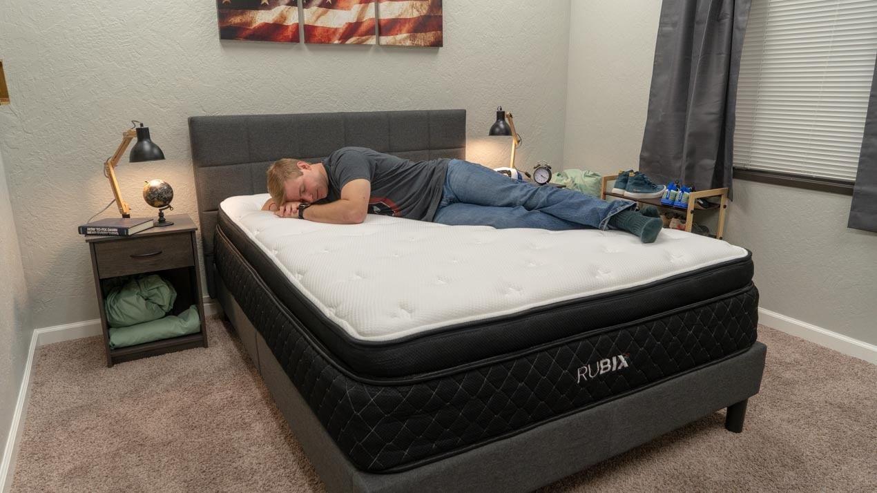 brooklyn bedding rubix mattress review side sleeper