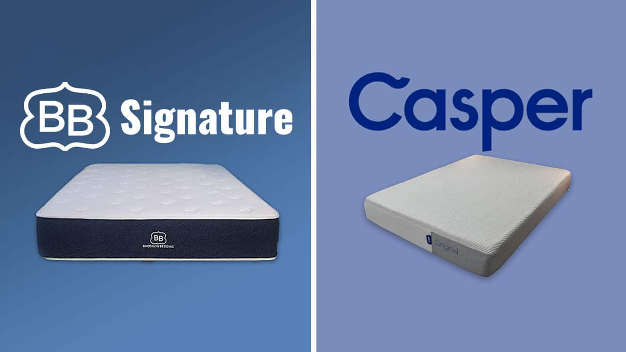 brooklyn bedding vs casper mattress comparison