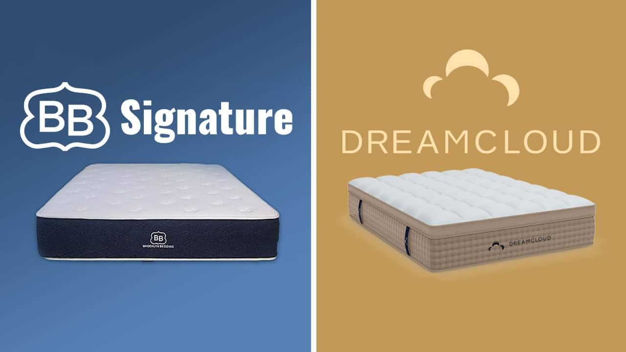 brooklyn bedding vs dreamcloud mattress review