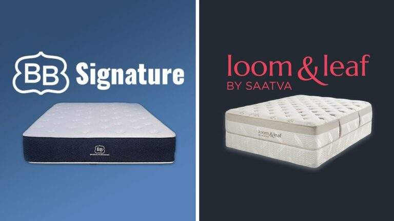 Loom and Leaf vs Brooklyn Bedding Mattress
