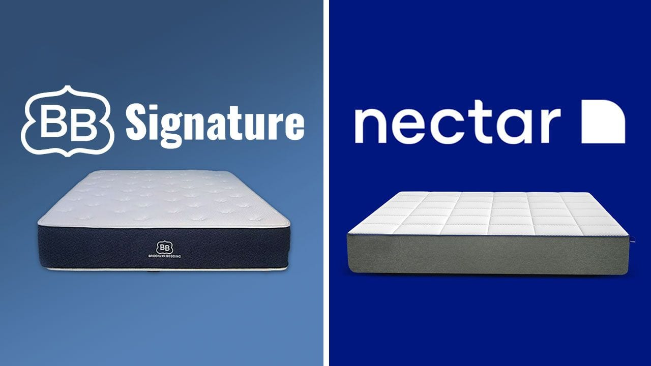 brooklyn bedding vs nectar mattress review