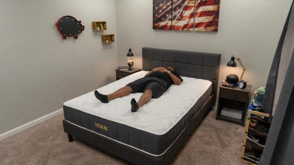 brooklyn bedding titan mattress review back sleeper