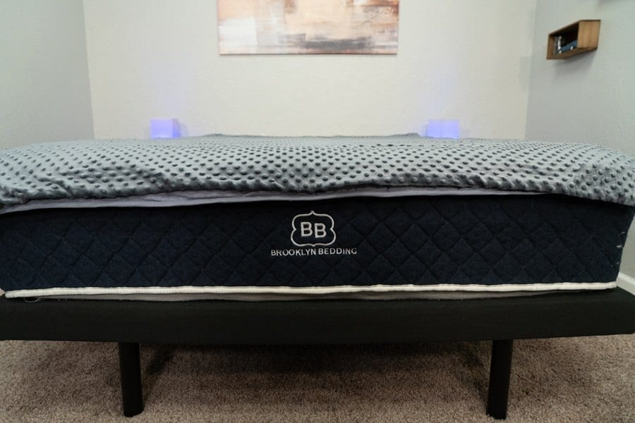 brooklyn bedding weighted blanket review