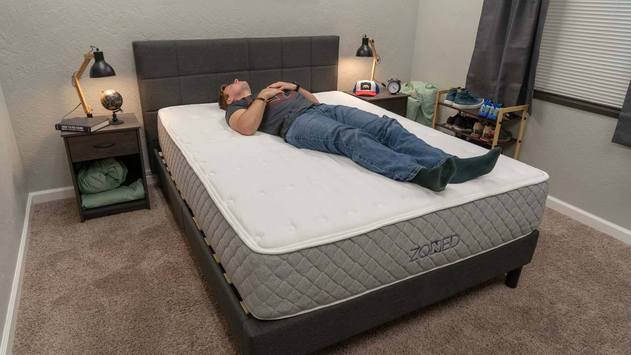 brooklyn bedding zoned mattress back sleeper review