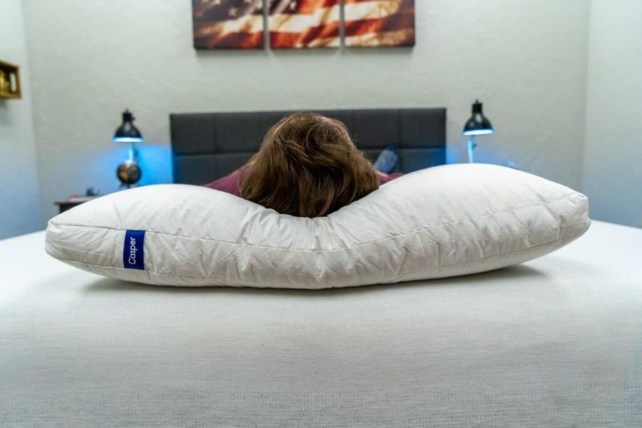 Casper Down Pillow Review Loft