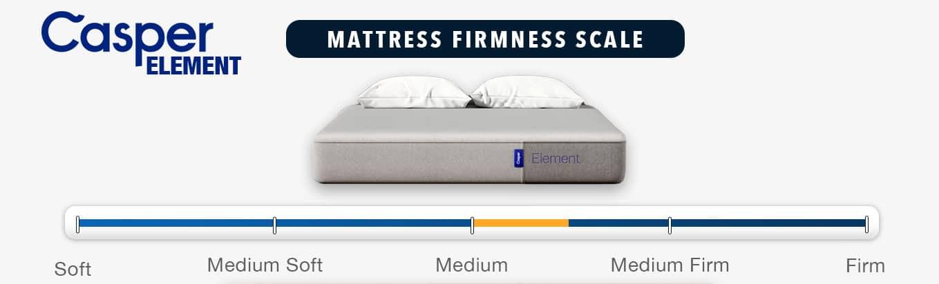 casper element mattress firmness