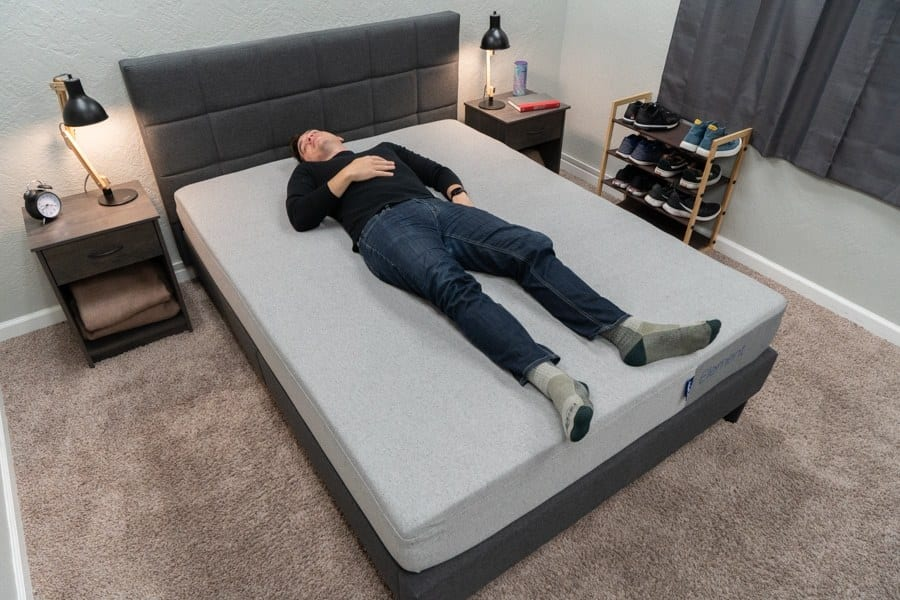 casper element review back sleeper
