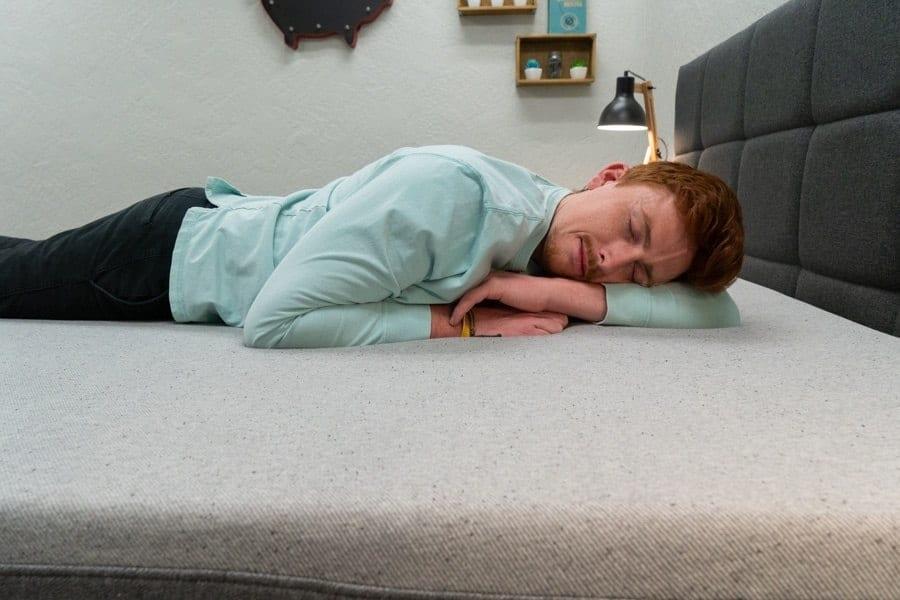 casper element mattress review stomach sleeper