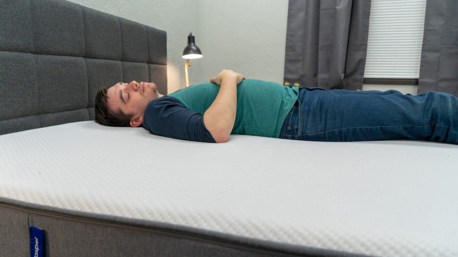 casper mattress review back sleepers cover