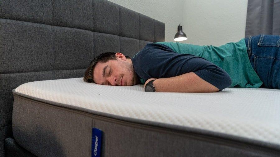 casper mattress review stomach sleepers