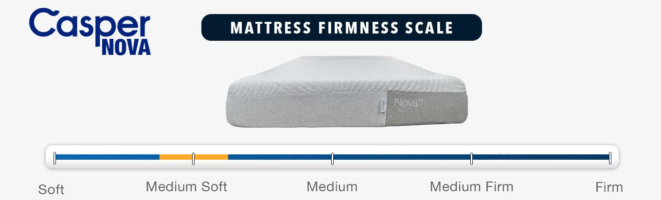 casper nova mattress review firmness