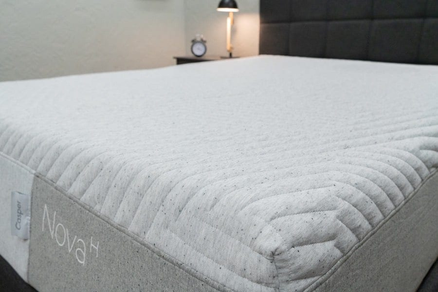 casper nova mattress review hybrid cover