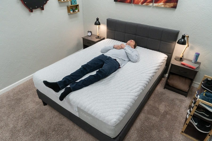 casper wave mattress review back sleeper