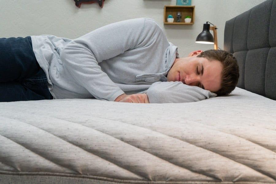 casper wave hybrid mattress review side sleeper