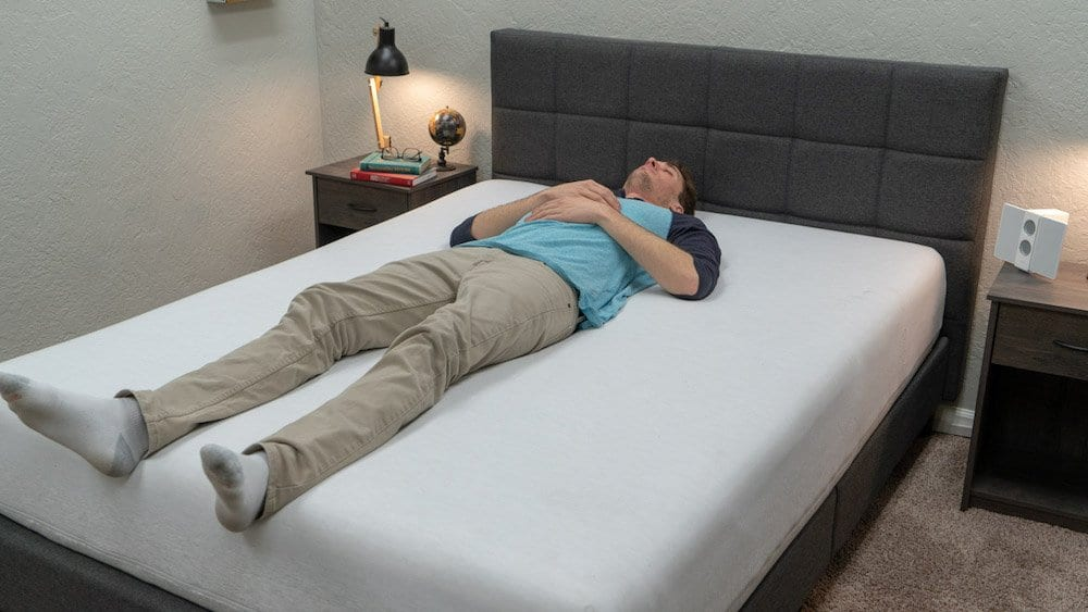 Casper wave mattress review bed in a box back sleepers
