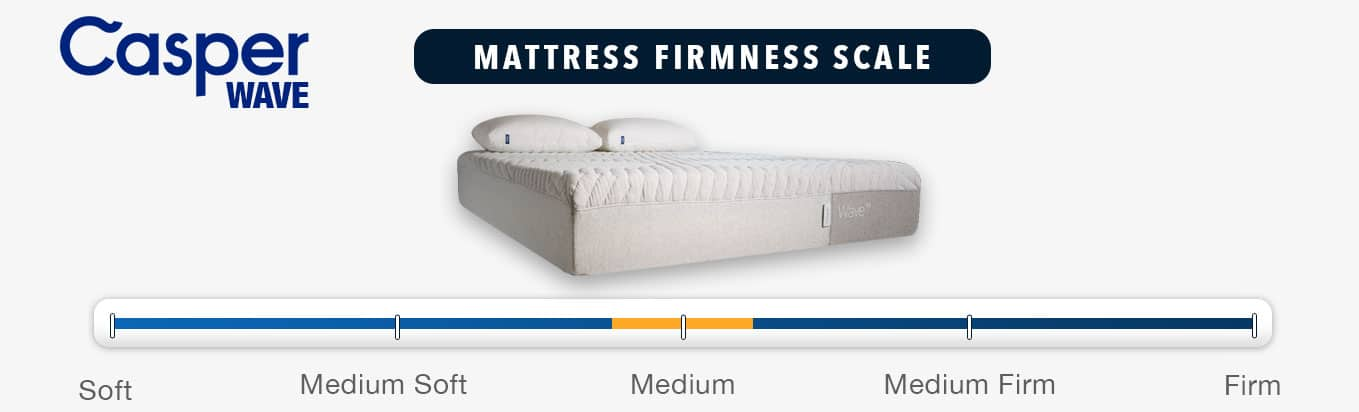 casper wave mattress review firmness rating