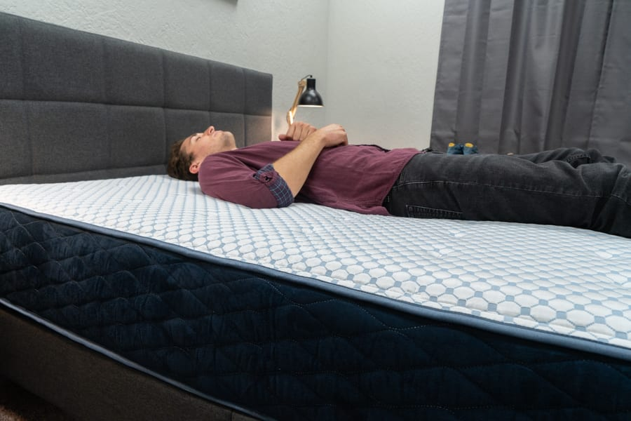 DreamFoam Arctic Dreams Mattress Review Back Sleepers Showing