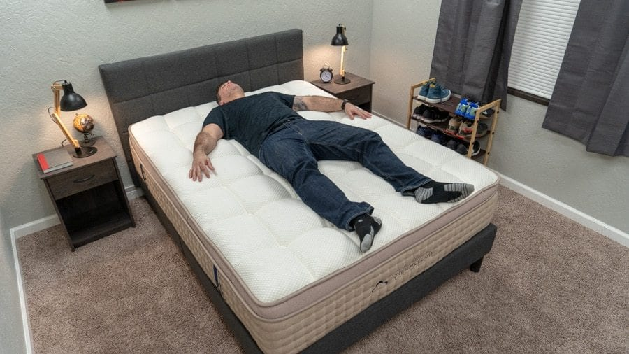 dreamcloud mattress review heavy people