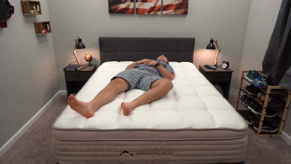 dreamcloud mattress review back and stomach sleepers