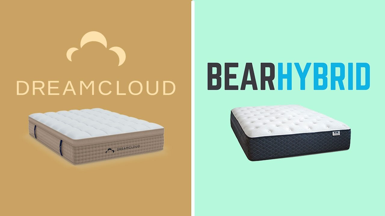 dreamcloud vs bear hybrid mattress review
