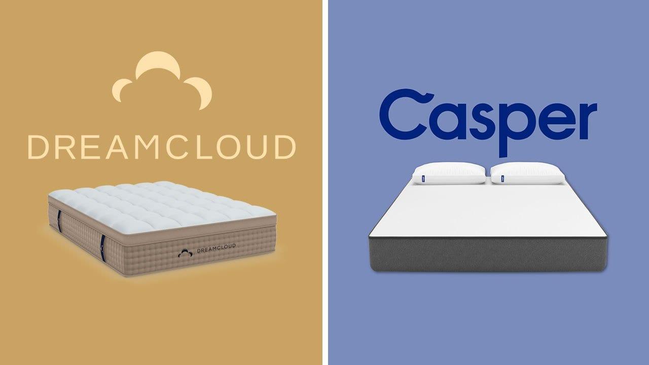 dreamcloud vs casper mattress review