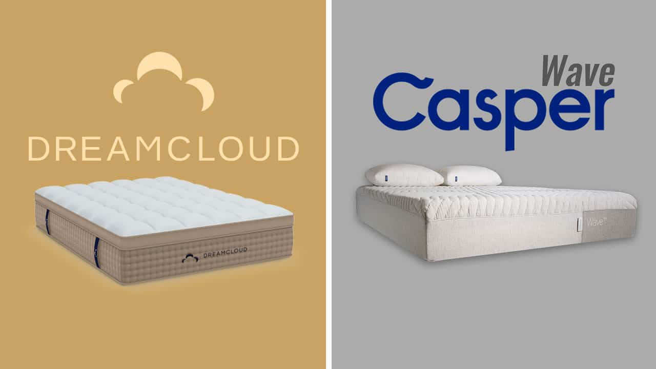 dreamcloud vs casper wave mattress comparison