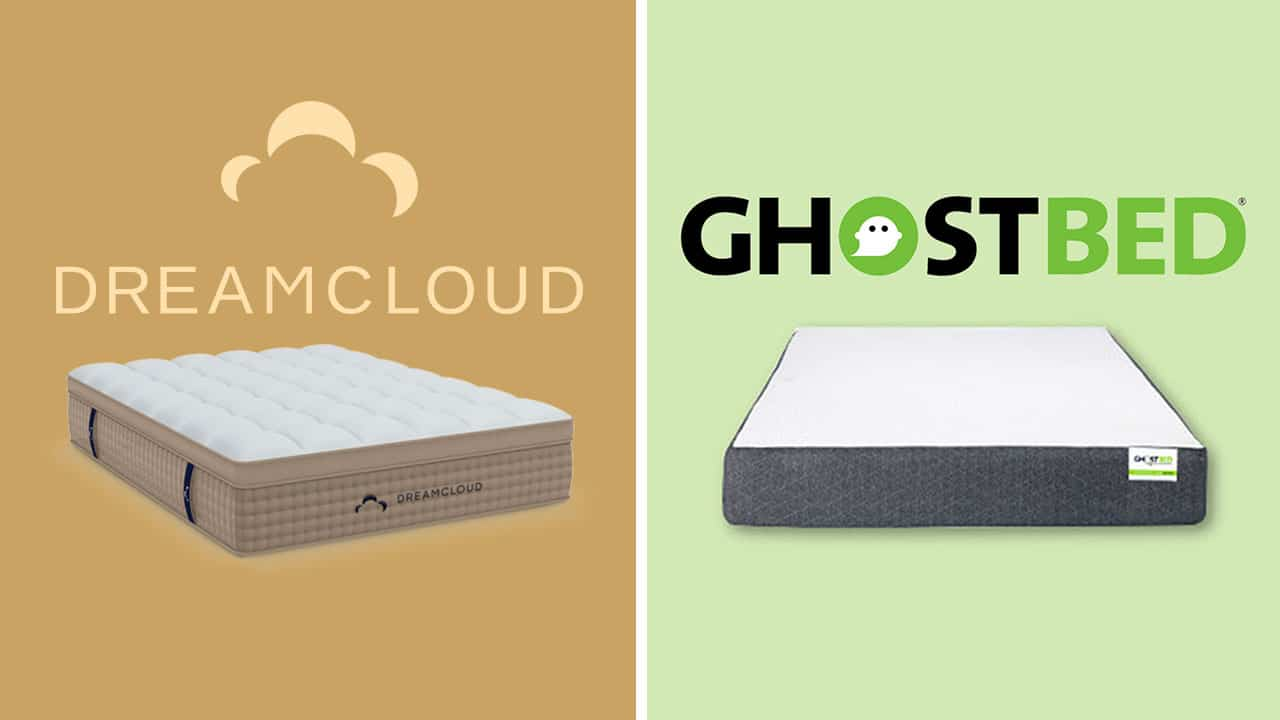 DreamCloud vs GhostBed Mattress