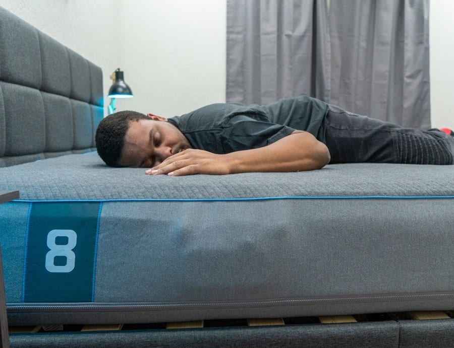 eight sleep pod review back sleeper