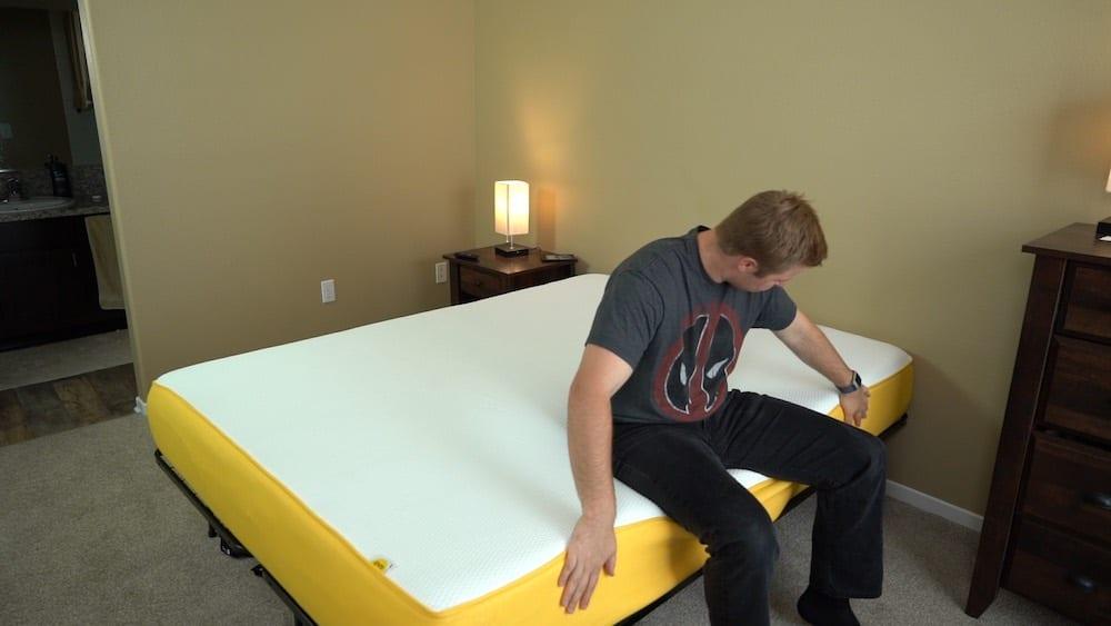 eve mattress review edge support