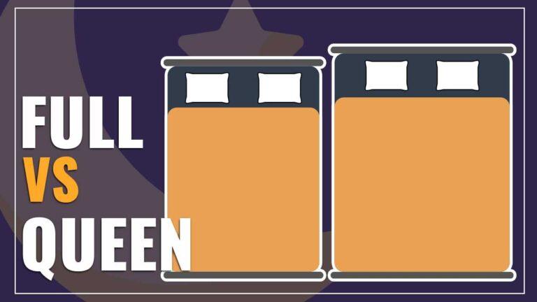 Full vs Queen Bed Size Comparison