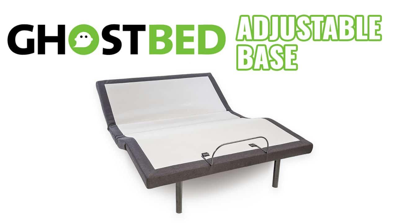 Ghostbed adjustable bed frame base review