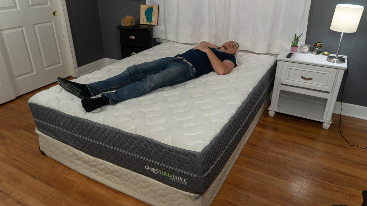ghostbed luxe review back sleepers