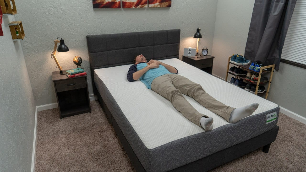 ghostbed mattress review back sleeper