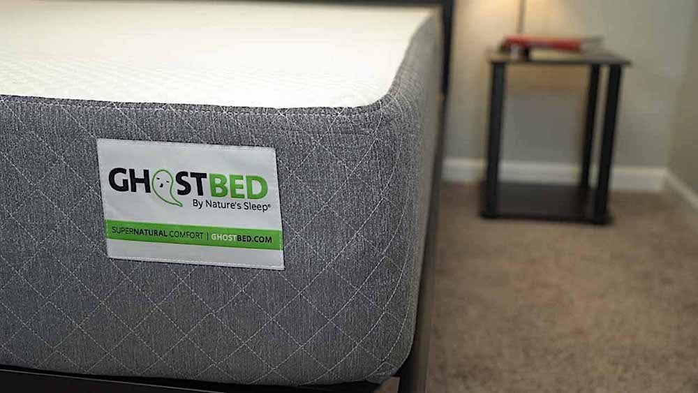 ghostbed mattress review cover and cleaning and tag