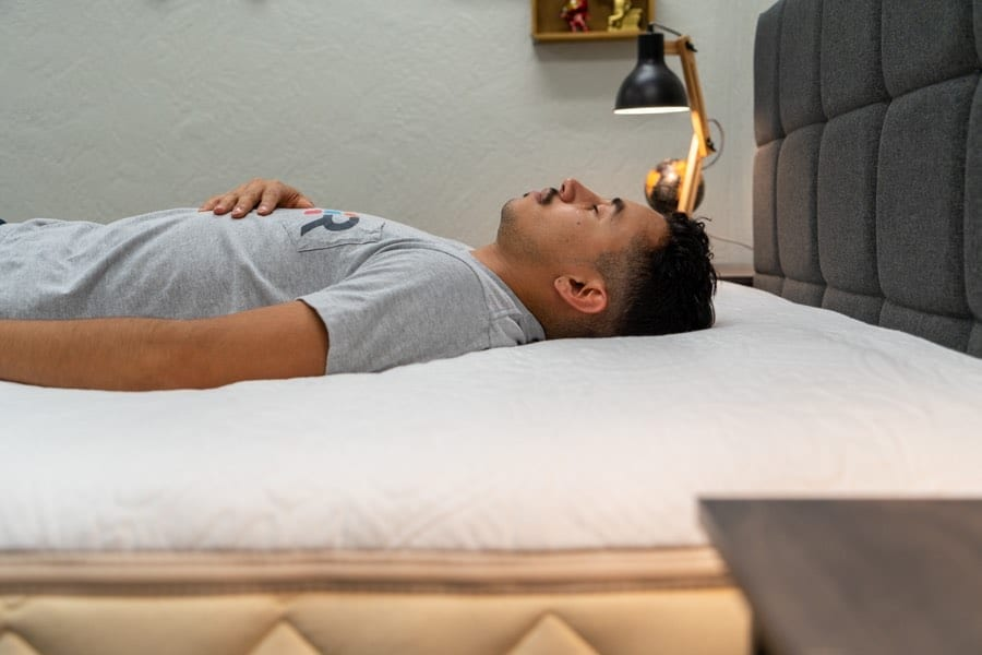 happsy mattress review organic latex hybrid back sleepers