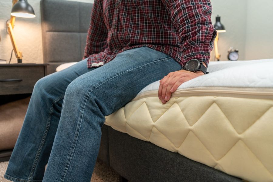 happsy mattress review edge support