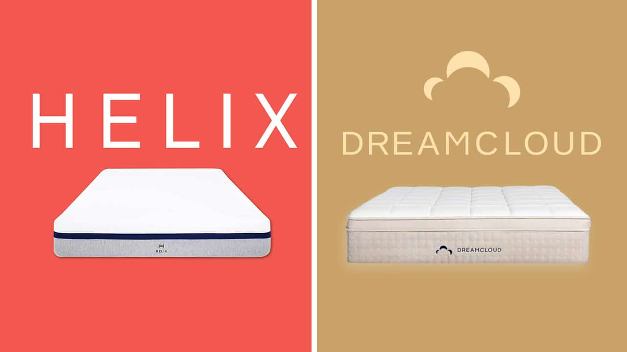 Helix vs DreamCloud Mattress