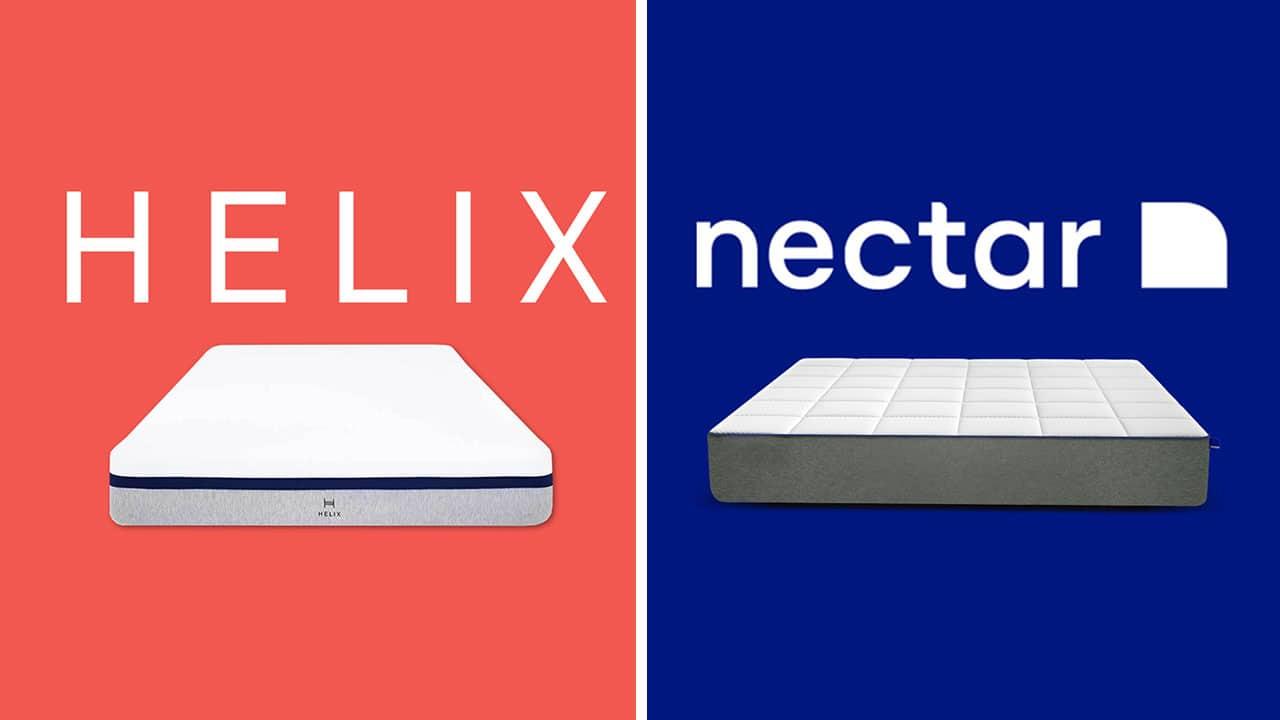 Helix vs Nectar Mattress Comparison